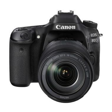 Canon EOS 80D Kit II EF-S 18-135MM IS USM Kamera DSLR