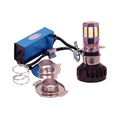 RTD Hi/Lo Lampu 6 LED untuk Motor dan Mobil [35 W]