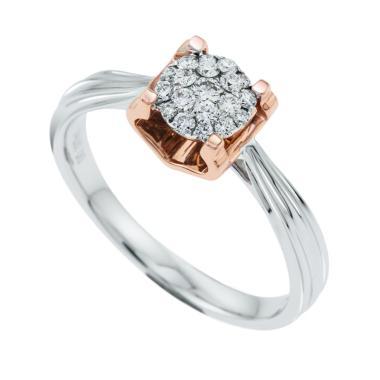 My Jewel Illusion WR50763E Diamond Cincin