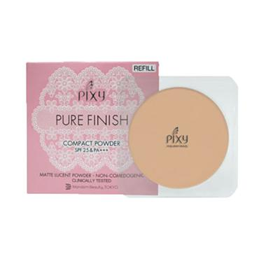PIXY Pure Finish Compact Powder Refill - Pink Beige - 11gr