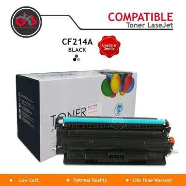 harga Toner Printer | Toner Cartridge HP LaserJet 14A [CF214A] Black Compatible Hitam Blibli.com