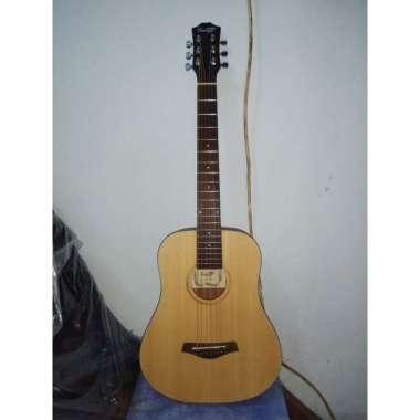 harga Gitar Akustik Cowboy Original Tipe GW-120 NA Ukuran 3 per 4 Natural Senar String natural Blibli.com