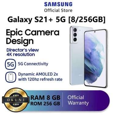 Samsung Galaxy S21 Plus / S21+ 5G RAM 8/256 GB Garansi Resmi