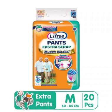 harga Lifree Pants Ekstra Extra Serap Popok Dewasa Celana - M 20 - M20 Blibli.com