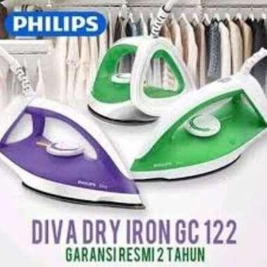 Setrika Seterika Philips Diva GC122 Anti Lengket Garansi Resmi