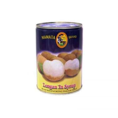 harga Manisan Imlek - Mamata Brand Longan Kelengkeng In Syrup 565g Blibli.com
