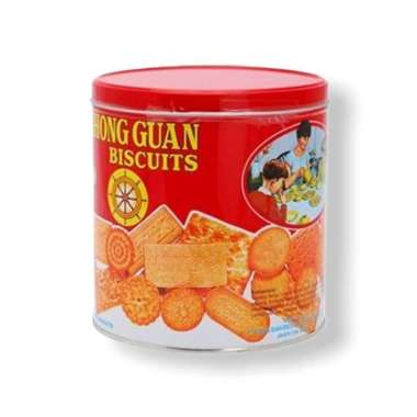 Khong guan biskuit kaleng 650 gr