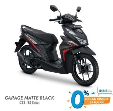 Honda BeAT CBS ISS Sepeda Motor [VIN 2021] Garagae Black Bandung