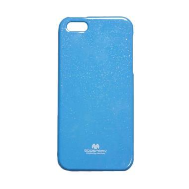 Mercury Jelly Soft case iPhone 5 - Blue