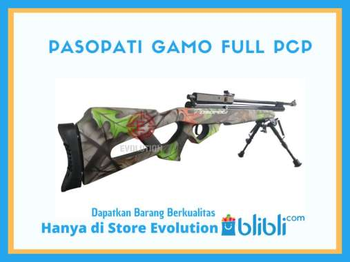 Senapan Angin PCP Pasopati Gamoflase Magazine