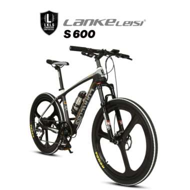 harga LANKELEISI S600 Sepeda MTB Listrik Road Electric Bike Black White Blibli.com