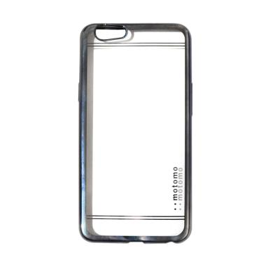 Motomo Shining Chrome Jellycase Silicone Softcase Casing for Oppo F1s A59 - Grey