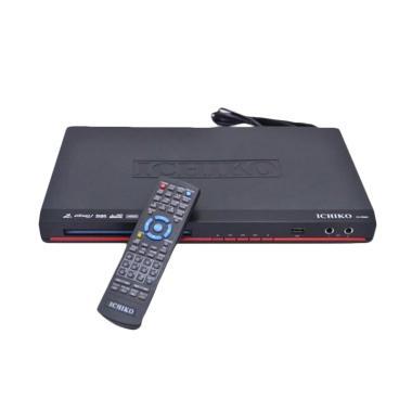 Ichiko Karaoke DV-VR860 DVD Player - Hitam Merah
