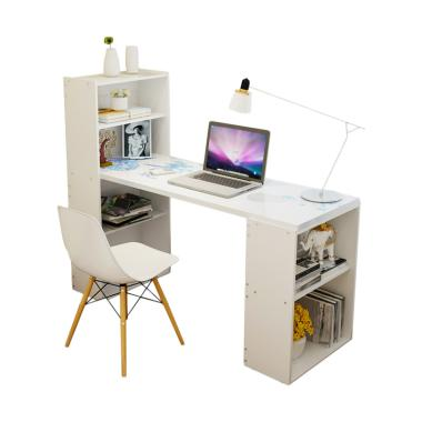 Best Furniture Meja dan Rak Serbaguna - White