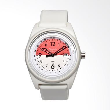 Alexandre Christie Jam Tangan Pria - Putih 6431MDRSSGRRE
