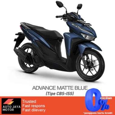 harga Honda New Vario 125 CBS ISS 2021 Sepeda Motor BIRU Bekasi & Depok Blibli.com