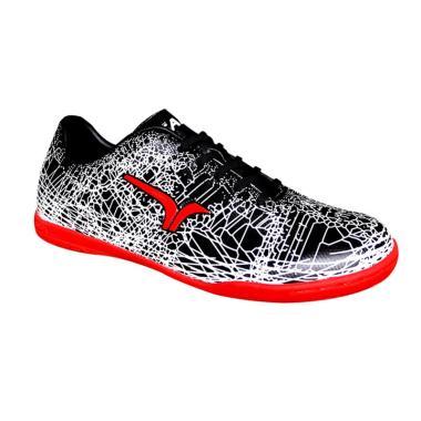 Calci Grunge JR Sepatu Futsal Anak - Black White