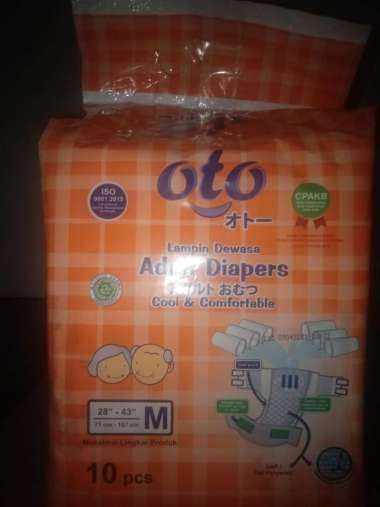 harga Oto Diapers Adult Popok Dewasa [Size M/ 10 pcs] Blibli.com