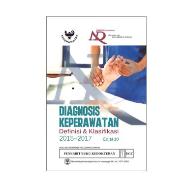 EGC Diagnosis Keperawatan NANDA 2015-2017 Edisi 10 by NANDA International Buku Edukasi