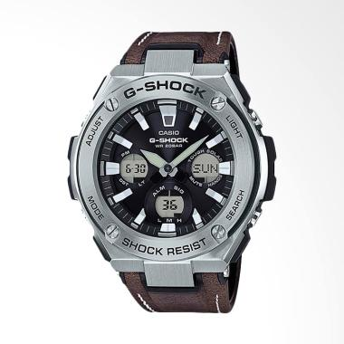 Casio G-Shock  Jam Tangan Pria - Brown Silver GST-S130L-1ADR
