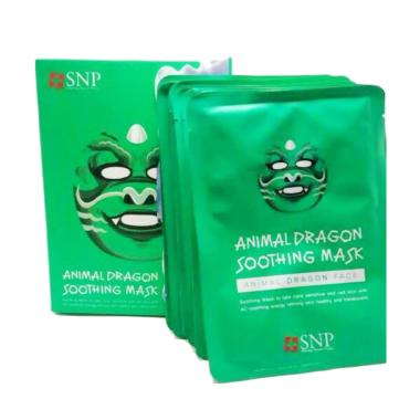 SNP Animal Mask - Animal Dragon Soothing Mask [1 Pcs]