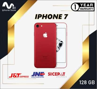 harga APPLE IPHONE 7 128GB ORIGINAL NE GARANSI TOKO 1 TAHUN RED Blibli.com