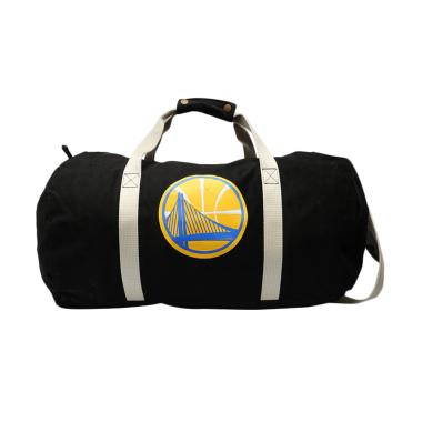 Mitchell n Ness NBA Team Logo Golde ...  Duffle Bag - Black [TLD]