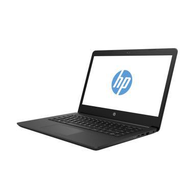 harga HP 14-ck0016TU Notebook - Black [i3-7020U/4GBRAM/ TBHDD/14inch/Win10] Blibli.com