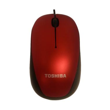 Toshiba Original U55 Optical Cable Mouse [Blue LED/ 1600 DPI/ 1-1.5 m]