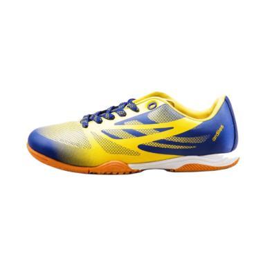 Ardiles 818 Men Futsal Shoes Pria - Blue Yellow