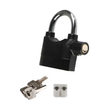 Gembok Alarm Motor - Hitam 12 CM