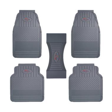 Rubber Car Mats  Universal / Karpet Mobil Karet [Size S]