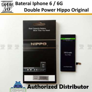 harga Baterai Hippo Double Power Original Apple Iphone 6 6G Batre Batrai Battery Dual Handphone Hipo Ori Blibli.com