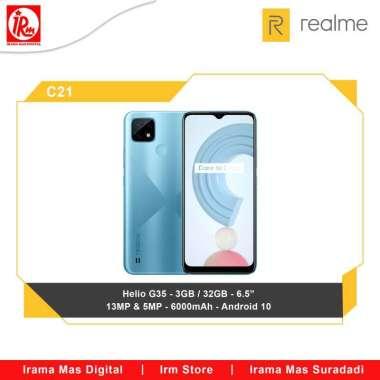 harga REALME C21 3/32 BLUE Blibli.com