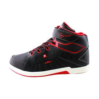 Ardiles Teens Hundred Tali Sepatu Anak - Hitam Merah