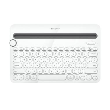 Logitech K480 Multi Device Bluetooth Keyboard - Putih