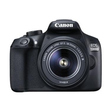 Canon 1300D kit 18-55mm II IS + FILTER + ANTIGORES + MEMORY