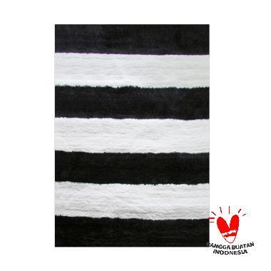 Rug House SS Stripe Karpet - Black
