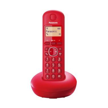 harga Telepon Wireless Panasonic KX-TGB210 - Telepon Wireless Rumah Kantor - Red Blibli.com