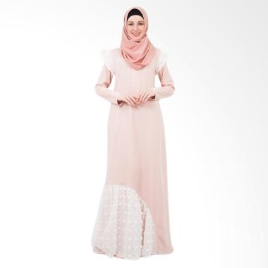 Valisha Edeline Dress Muslim - Salmon