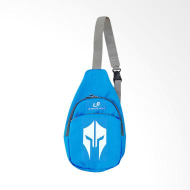 Ultimate Polo Waterproof Punggung Sling Bag Tas Unisex - Blue [TB-01]