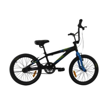 United 20 Roouse 07 Alloy Sepeda BMX - Black