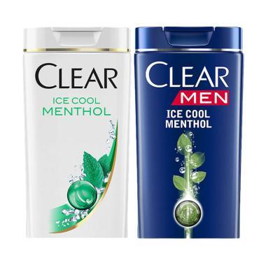 Clear Shampo Anti Ketombe Ice Cool  ... l Menthol Shampo [340 mL]