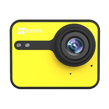 Ezviz S1C Action Camera - Kuning [1080p/Full HD/Touch Screen]