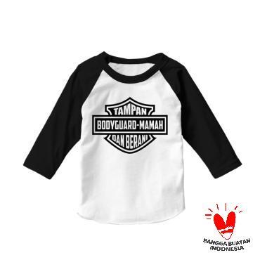 Hoofla HR 10 Distro Kaos Baju Atasan Anak - Putih