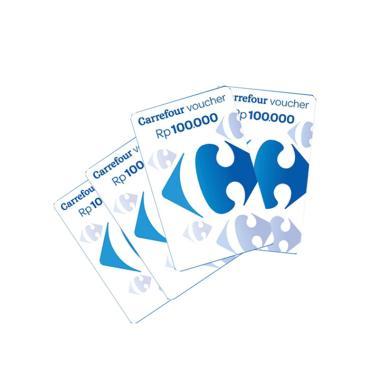 Carrefour Voucher Fisik Belanja [Rp. 100.000]