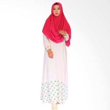 SOFEYA Aldea Gamis Syar'i Ibu Menyusui - Soft Pink
