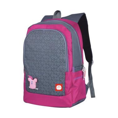 ba1470e856a Catenzo Junior CCL002 Backpack Tas Laptop Anak Sekolah Perempuan - Abu-abu