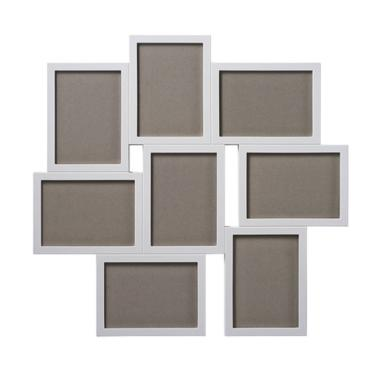 Ikea VAXBO 8in1 Photo Frame Bingkai Kolase for 8 Gambar - White