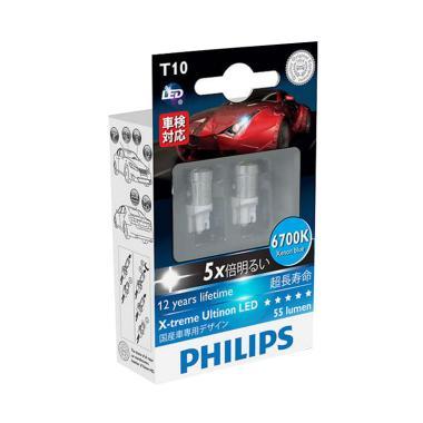 PHILIPS Xtreme Ultinion T10 Lampu LED Senja [6700K]